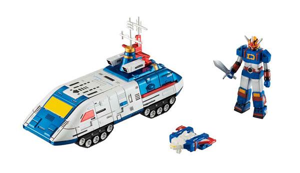 Cosmo Fleet Collection EXTRA戰隊母艦金屬配色版本