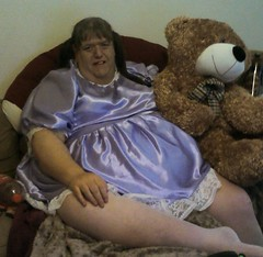 Teddy!! (yvonnematthews258) Tags: tv teddy cd mature sissy transvestite chubby crossdresser cocksucker openminded bbclover adulttoddler