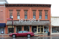 Reliable (jschumacher) Tags: ohio storefront pvc spencerville reliable spencervilleohio