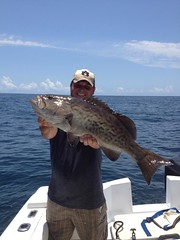 Customer with a Grunt (saltydogfishingcharters) Tags: