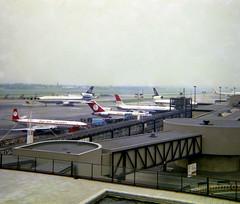 London Gatwick Airport Panorama 2 (heathrow.junkie) Tags: lgw londongatwick ona dc10 overseasnationalairways gatwick london danair comet dehavilland 727 boeing727 britishcaledonian mcdonnelldouglasdc10 wardair britishairtours 707 boeing707 vickers viscount
