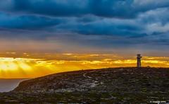 West Cape Lighthouse (Sougata2013) Tags: sunset lighthouse landscape evening colours australia adelaide southaustralia cloudscape yorkepeninsula westcape innesnationalpark westcapelighthouse