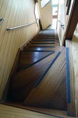 Going Down (sjrankin) Tags: house japan stairs hokkaido edited steep yubari 13may2016