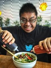 This is how you eat Pho!  (mayhemstudios) Tags: losangeles foodporn zagat pho gardengrove vietnamesefood foody foodie vietfood lastory socalshooters laphotographer eaterla beastmode dinela iphoneography discoverla octweatup twittermaster latimesfood foodiechats eeeeeats streetmeetla conquerla caligrammers abc7eyewitness pholover uglagrammers phobom larrythebird