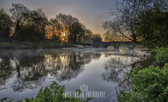 The start of another beautiful day along the riverbank this morning. River Stour, Iford. (Emily_Endean_Photography) Tags: uk christchurch summer england sun sunrise river countryside nikon warm dorset bournemouth stour