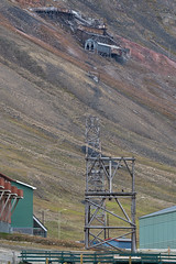 044 Day 1 Svalbard (brads-photography) Tags: abandoned svalbard machinery scree disused derelict spitsbergen coalmine funicular longyearbyen coalmining mineworkings mine2b 193768 julenissrgruva newmine2 santaclausemine