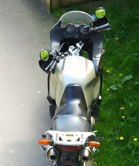 Summer Reflections (brandsvig) Tags: summer reflection bike skne sweden may mc motorcycle malm sommar 2016 spegling augustenborg samsungs4