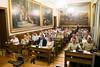 Visita al Senado de los participantes en CESEDEN 16