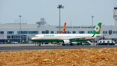DSC01540 (Papi Hsu) Tags: sony taiwan airbus  tpe  a321 evaair a500  dslra500