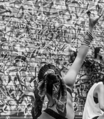 Dance (marianaazzi) Tags: street brazil portrait urban blackandwhite bw streetart brasil canon dance pb sp portraiture brazilian urbano paulo so pretoebranco