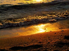 Golden sand! (Christos Andreou) Tags: nature photography landscapes spring sand mediterranean waves photographer ngc relaxing vivid greece beaches melancholy naturalbeauty goldensunset goldenhour seaview beachwalking oranje loutraki beautifulworld sealandscape hdrphotos greeksun corinthiangulf spectacularphotos wavessunset goldenlandscape greekcoastline nearbythesea galaxycamerasamples opticalzoomphotos