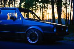 Mk I (> Mr.D Photography) Tags: sunset car vw volkswagen nikon g ii nikkor 18 50 mk d80