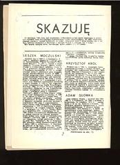 AISW_136_002 (Kolportaz Solidarnosci Walczacej) Tags: kpn 1986 katowice czasopismo