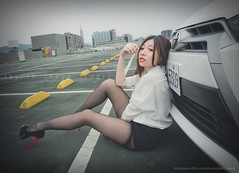 jaylin-0134 ( Jaylin) Tags: travel portrait stockings girl outside ol photo airport model women uniform open library longhair taiwan olympus lookout heels taipei sailor mirco omd pepole hight m43 mzd jelin linjay