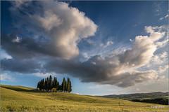Val d'Orcia (Luigi Alesi) Tags: sky nature clouds landscape nikon scenery san italia raw nuvole natura unesco val cielo tuscany d750 siena toscana paesaggio boschetto dorcia patrimonio cipressi umanit quirico itatly