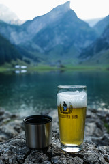 Seealpsee (Estera La) Tags: summer nature beer beautiful canon schweiz switzerland suisse sommer piwo seealpsee canon70d