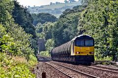 Hoghton Climb (whosoever2) Tags: uk greatbritain railroad england train nikon unitedkingdom railway lancashire oil gb preston lindsey freight colas hoghton class60 60056 d7100 6m32
