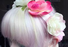 Pastel (mercuricaphotography) Tags: pastel pastelhair haircolor coloredhair hairart flowercrown lavender lavenderhair palegreen