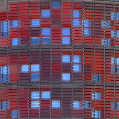 back to the Torre Agbar (UnprobableView (busy...)) Tags: barcelona torre jean bcn agbartower torreagbar nouvel agbar jeannouvel unprobableview manuelmiragodinho