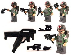 FOLDING BRICKARMS FMG9 (it) Tags: 3 modern lego working 9 fmg dual folding proto akimbo noob warfare wield bf3 mw3 brickarms magpul protoypye