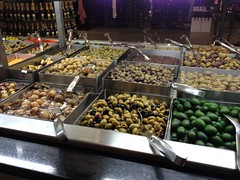 Olives & Antipasti at Wholefood Market London Kensington (tedesco57) Tags: uk england london bar wine market olives kensington stool antipasti wholefood