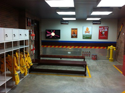 Kidzania Fire Station