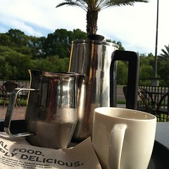 French Press $3.75  best deal going at @starbucks