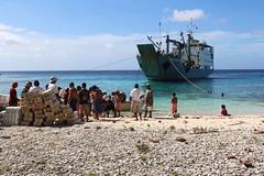 Ulithi Unloading (Stephen Lioy) Tags: ocean island pacific transport fieldtrip micronesia yap oceania federatedstatesofmicronesia