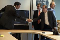 Reunin con Director General Adjunto de Comercio (Cancillera Ecuador) Tags: de ricardo patio joao ue europea machado unin aguiar