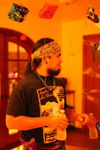 Danza Azteca Taxcayolotl drummer