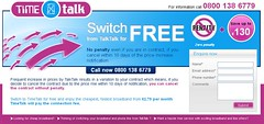 Switch from TalkTalk for Free (TpadDotCom) Tags: uk net pc internet broadband isp provider talktalk timetalk