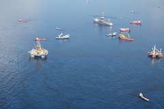 Deepwater Horizon Oil Spill Site