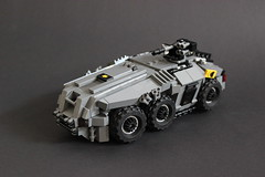 DARKWATER Baal APC Main (✠Andreas) Tags: lego darkwater apc baal thepurge legomilitary armoredpersonelcarrier legoapc cyberpunkmilitary legoarmoredpersonelcarrier legodarkwater