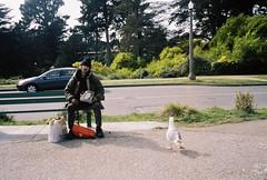 現行犯! (K◉l◉) Tags: sanfrancisco park color film 135 22mm f19 naturablack