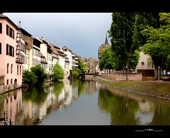 Petite France, Strasbourg (Yolanda Miel) Tags: france canon reflections river europe strasbourg ill alsace petitefrance pontscouverts mygearandme mygearandmepremium yolandamiel flickrstruereflection1 flickrstruereflection2 flickrstruereflection3 flickrstruereflection4