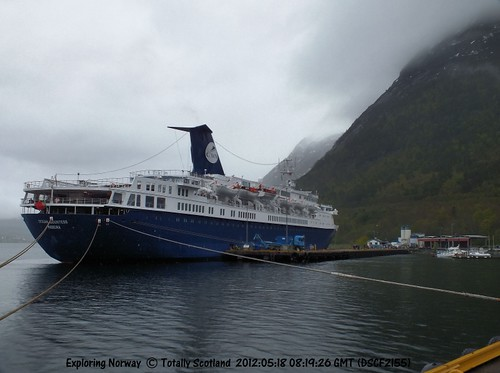 Ocean Countess in Åndalsnes