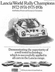 scan_039 (uk_senator) Tags: car magazine gamma beta commercial advert carlo monte range lancia stratos berlinetta hpe uksenator