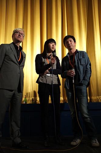 Here, Then Q&A with Chris Fujiwara, Director Mao Mao, Lidan Hu and Yue Ding
