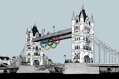 Tower-Bridge-&-Olympic-Rings-London-2012-by-Mi...