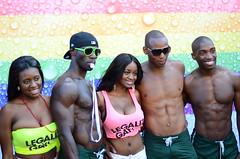 LLA_0393 (88Ambitions) Tags: 50mm rainbow prideparade rainbows gaypride dykemarch blackgaypride blackgay 18g lesbianmarch blacklesbians d7000 sexygays nikond7000 50mm18g torontopride2012