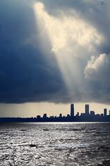 Spotlight (jathdreams) Tags: ocean 50mm spotlight mumbai marinedrive 50mmf14d 14d top20flickrskylines