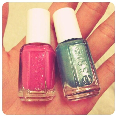 My little Essie nailpolish --- from older sister ;)