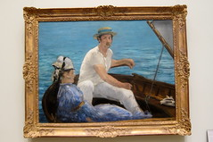 NYC - Metropolitan Museum of Art: Boating (wallyg) Tags: nyc newyorkcity ny art museum painting manhattan ues boating gothamist artmuseum metropolitanmuseum themet uppereastside metropolitanmuseumofart manet museummile edouardmanet édouardmanet
