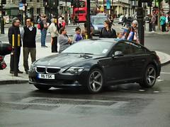BMW 630i Sport (kenjonbro) Tags: uk england westminster sport trafalgarsquare bmw 2009 charingcross sw1 6series 630i kenjonbro fujifilmfinepixhs10 fujihs10 r6tsk