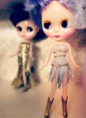 Blythe A Day 12 ~ Silver & Gold