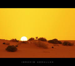 ( ibrahim) Tags: sunset sky sun nature stone night canon landscape photography eos sand desert image photos mosque tokina drought sands  ibrahim abdullah  qassim   50d    canon50d