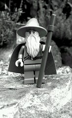 You Shall Not Pass (Ru Leamon) Tags: macro up close lego staff stop lordoftherings minifig tolkien legominifigure minifigure halt gandal lordoftheringslego flickrandroidapp:filter=nyc