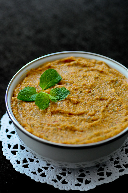Tomato Mint Chutney (No Coconut)