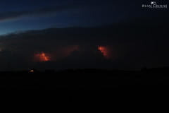 Storm Clouds & Lightning (ryan.crouse) Tags: sky canada storm rain clouds thunderstorm lightning saskatchewan
