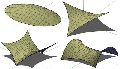 Tensile Structures Attractively Cover Large Distances